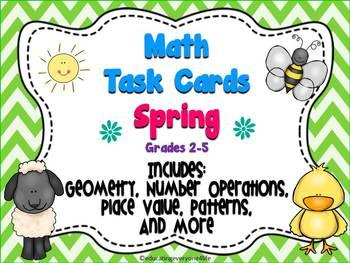 Spring Task Cards