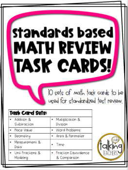 Math Task Cards (Standardized Test Review)