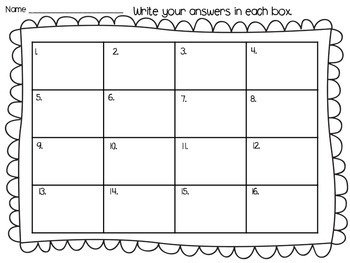 Math Task Cards (Subtracting One Less)