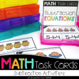 Math Task Cards - Subtraction