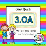 Math Task Cards -- Third Grade OA Standards