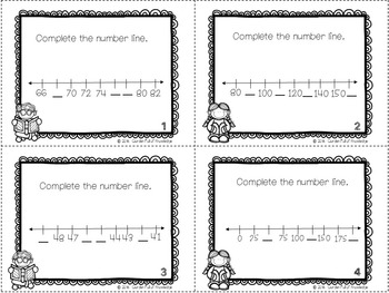 Math Time, Patterning, Graphing, Place Value, Numeration