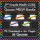 Math Quizzes ULTIMATE Bundle: ALL Common Core Standards Grades K-5 Quizzes