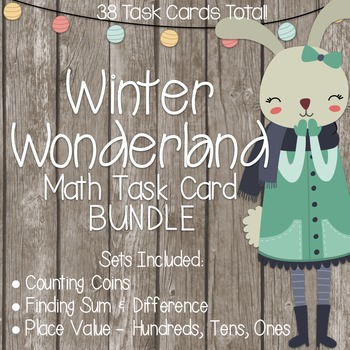 Winter Wonderland Math Task Cards!