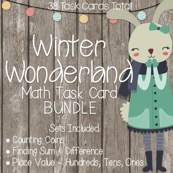 Winter Wonderland Math Task Cards!