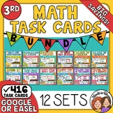 Math Task Cards: Word Problems and Math Skills for Grade 3