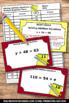 Addition Equations Algebra Task Cards 6th Grade Common Core Math