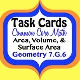 Geometry Area, Volume, & Surface Area CCS 7.G.6
