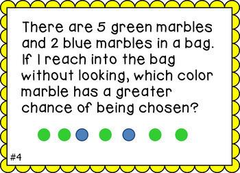 Math Task Cards Grade 1