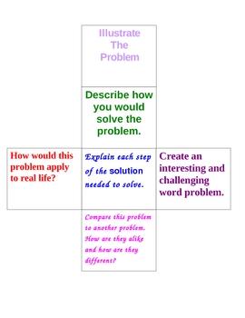 Math Task Cube