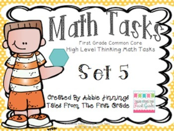 Math Tasks- 1st Grade- Bundle