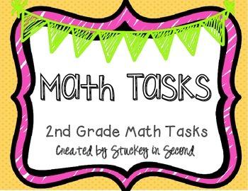 Math Tasks (2nd Grade Set #1)
