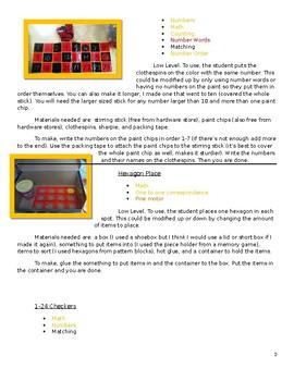 Math Tasks