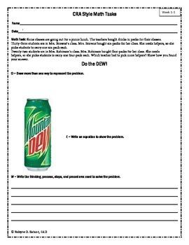 Math Tasks Bundle