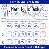 Math Tasks | Math Activities | Math Centers | Number Quiz