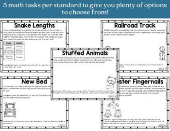 Math Tasks Bundle 2nd Grade