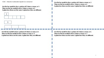 Math Tasks and Math Mini Lessons for Grade 4
