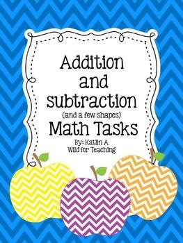 Math Tasks for First