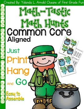 Math-Tastic March Math Hunts: Place Value Edition