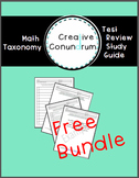 Math Taxonomy: A Test Review Study Guide