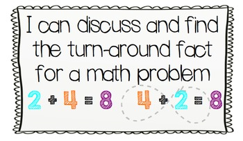 Everyday Math Unit 2 (I Can Statements, Mental Math, and Morning Messages)