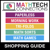 Math Tech Connections Math Resources Shopping Guide