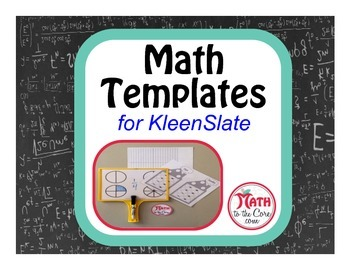 Math Templates for KleenSleeve