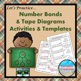 Math Templates for Number Bonds and Tape Diagrams