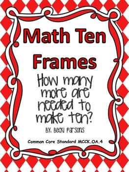 Math Ten Frames