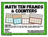 Math Ten Frames and Counters