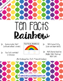 Math Tens Addition Facts/Tens Rainbow Facts