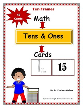 Math: Tens & Ones Card Game (Place Value)