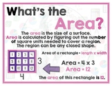 Math Terms & Definitions - 35 Colorful Math Posters - Grades 5 6 7 8 9