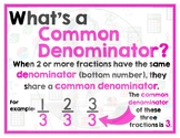 Math Terms & Definitions - Colorful Math Posters - COMMON