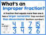 Math Terms & Definitions - Colorful Math Posters - IMPROPE