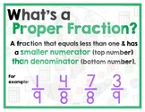 Math Terms & Definitions - Colorful Math Posters - PROPER