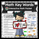 Math Key Words Bundle Pack  !!!!!!31 Pages!!!!! -full preview-