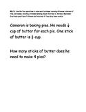 Math Test Item Spec Questions - MAFS.4.MD.1.2