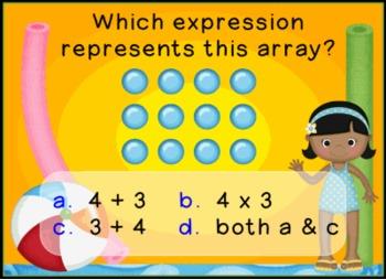 Math Test Practice Promethean ActivInspire Flipchart Lesson