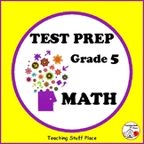 MATH TEST PREP ... Grade  5 ... WORKSHEETS  ... Digital Bonus