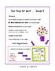 REVIEW MATH | Math Test Prep Gr  5 | Beginning of School G