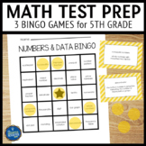 Math Test Prep 5th Grade Vocabulary Bingo