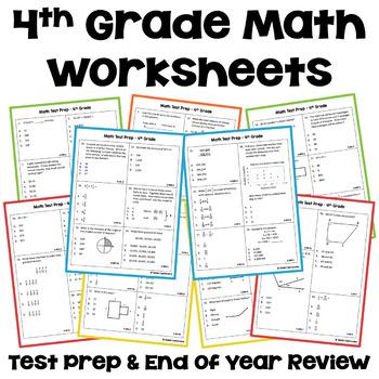 Math Test Prep - 4th Grade Math