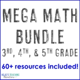 Math Center Games, Test Prep, or Activities: Magic Square