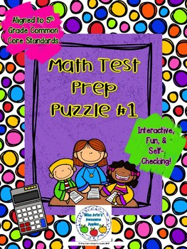 Math Test Prep Puzzle 1