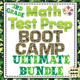 Math Test Prep - 3rd Grade Boot Camp Ultimate Bundle