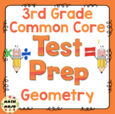 3rd Grade Math Test Prep: Geometry