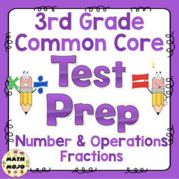 Math Test Prep (3rd Grade Common Core) Number and Operations - Fractions
