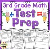 3rd Grade Math Test Prep - All Standards 3rd Grade Math Bundle