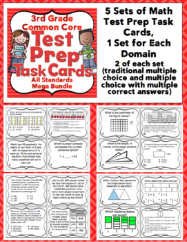 Math Test Prep - 3rd Grade Ultimate Bundle